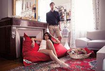 Sacs et poufs / Soyez créatifs, et laissez les sacs Jumbo Bag envahir votre intérieur ... pour buller avec style >>> http://sonuit.fr/63-pouf#/fabricant-jumbobag