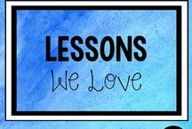 Lessons We Love / A varied group of lessons, activities, projects and resources that we all love. Geared toward Pre K-5th grade and SLP classroom.|Favorite Lessons|Favorites|Favorite Activities|Elementary Education|Elementary Activities|Lesson Plans| #SLP #ElementaryEducation