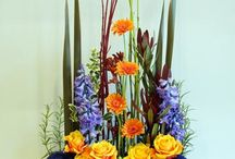 Vegetaive flowers arranging