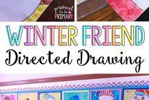 Winter Activities {Theme} / Winter themed activities for homeschool, childcare, preschool, kindergarten, first grade and second grade.