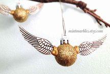 Harry Potter Ornaments / Harry Potter Christmas Tree ornament ideas