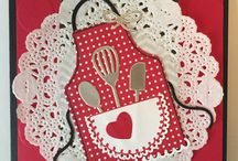 Apron/Kitchen Cards and stuff