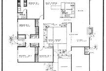 mid century floor plans