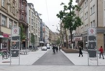 Shared space street