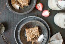 Carre de quinoa et dattes