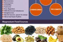benefits of magnesium/potassium/zinc / by Carmillus Byrd