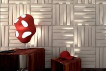 3D Wall Panels / Transform any ordinary wall into a unique and stylish space with our decorative 3D wall Panels. Whether decorating an entire room, or accenting a small area, these pattern carved surface panels create an instant designer look at a relatively low cost.