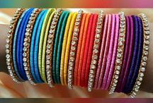 colorful bangles,colors of life.