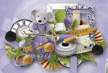 Digital Scrap - Essentiels - Digital-Créa / All my creations for the essentiels at Digital-Créa...