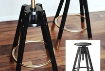Bar stools for the kitchen