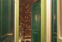 Leather Inspired Interiors / by Hampton Hostess CG3 Interiors-Barbara Page Home