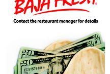 Baja Fresh Fundraising