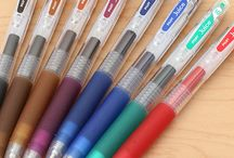 Penne e pennarelli e matite