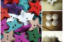 Knoflíky / Knoflíky všech barev, tvarů, materiálů..