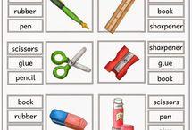 school object worksheets