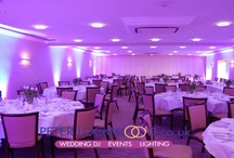 Peters Wedding Lighting / Lots of different pictures showing vairous colours of my wedding lighting service