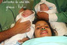 Vida de grávida e Mãe de gêmeos