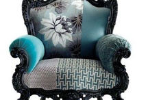 Old chairs / restored and re upholstered old/ antique furniture
