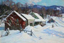 Winter Quebec/Vermont