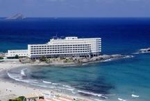 Hotel Servigroup Galúa**** / El #Hotel Servigroup Galúa se encuentra ubicado en un escenario inmejorable en La Manga del Mar Menor, en primera línea de mar y disfrutando así, de unas espectaculares vistas del #Mediterráneo. // The Servigroup Galúa Hotel is located in a superb position on the seafront in La Manga del Mar Menor and has spectacular views of the #Mediterranean.