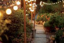 outdoor lighting / Summer time is garden time – think about some nice lighting to stay outside even after sunset.