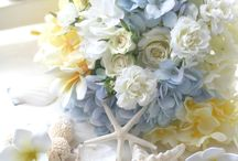 wedding yellow&blue