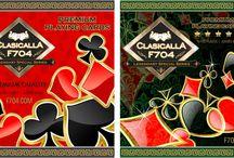Plastic Casino Playing Cards / Custom Casino Playing Cards