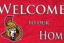 Sens Mancave / Sports merch for the mancave of Ottawa Senators fans
