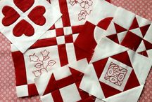 dear jane quilting blocks