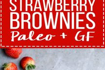 Paleo, Gluten Free Strawberry Recipes