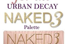 Naked 3 palette  / by Nicole Fritsche Songy