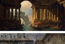 Архитектура в живописи Романтизма