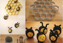 Tvoření z Kinder vajíček - Make from Kinder eggs