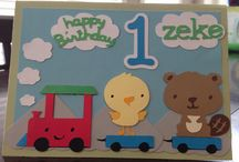 Birthday Cards - Amanda's Creations  / Cricut Birthday Cards