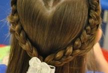 hair for kay,em,and lilah / by Tasha Maxwell