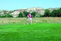 Golfing in North Dakota!