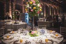 candelabra wedding centertable / elegant tall wedding centertable