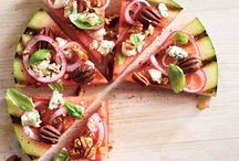 BBQ / Delicious appetizer with watermelon!