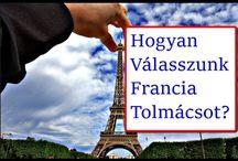 Francia tolmács