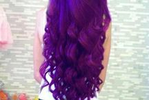 Colored hair!!  / by Dominika G