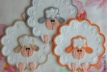 Potholders/coasters 2