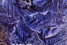 Interesting album covers / I love the artwork from underground metal/music scene. It's like collecting art.