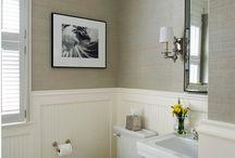 banheiros meia parede