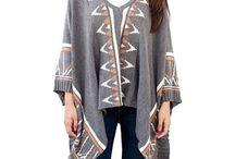 Capes Ponchos Wraps / womens_fashion / by Jane Wenderott-Stuart