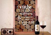 quadro vinho