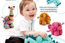 Amamani crochet puzzle balls