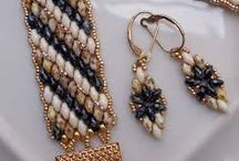 gioielli con perline: parure