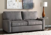 The American Leather Comfort Sleeper / The American Leather Comfort Sleeper is a complete package of comfort, style, function & fashion with so many options for your home & lifestyle.  http://www.thingzcontemporary.com/blog/new-introduction-american-leather-comfort-sleeper/