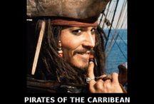 CAPTAIN Jack Sparrow / by Marissa Boyd
