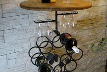 stojan na vino , wine holders , darček pre vinára ,kovaná dekorácia / výroba stojanov na vína